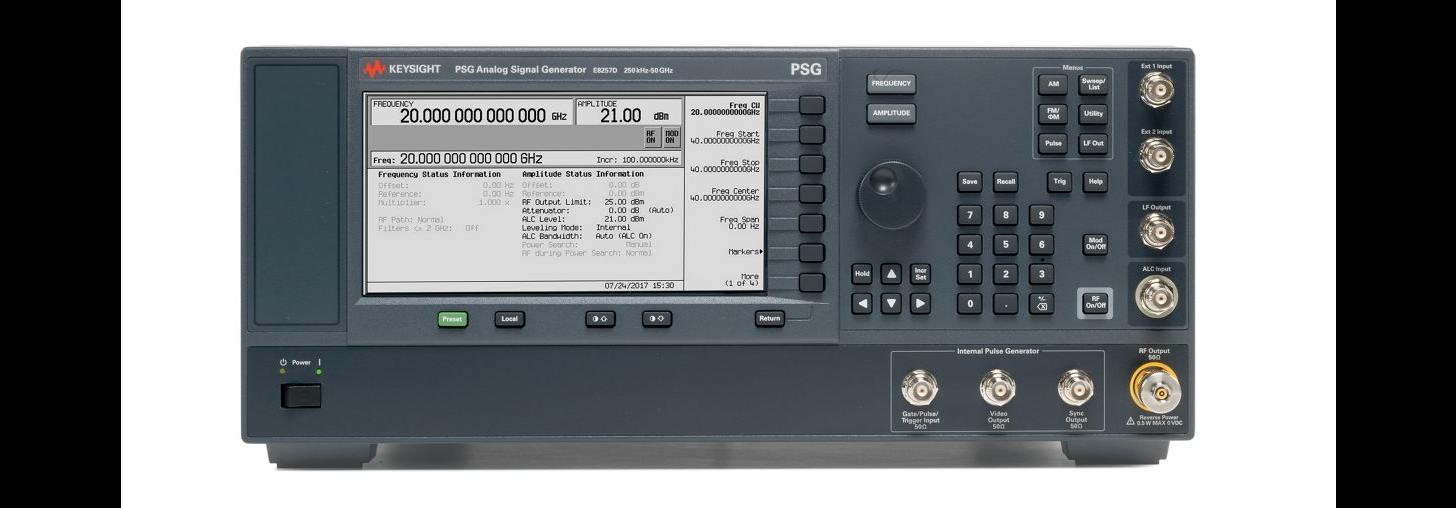 Signal Generators analog